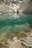 Lago dell'alta montagna Immagini Stock Libere da Diritti