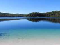 Lago dell'isola di Fraser Fotografia Stock Libera da Diritti