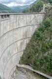 Lago della diga di Vidraru Immagini Stock Libere da Diritti