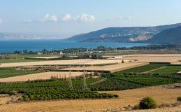 Lago della Galilea Immagini Stock Libere da Diritti