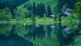 Lago della montagna Immagine Stock