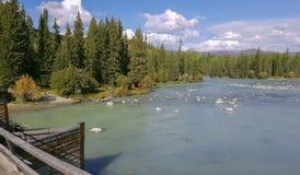 Lago della montagna di Altai della montagna Immagine Stock Libera da Diritti
