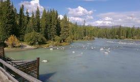 Lago della montagna di Altai della montagna Fotografia Stock Libera da Diritti
