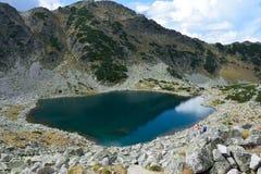 Lago della montagna di Rila Fotografia Stock Libera da Diritti