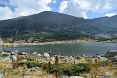 Lago della montagna di Rila Immagine Stock Libera da Diritti