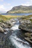 Lago della Norvegia Immagine Stock