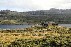 Lago della Norvegia Fotografia Stock