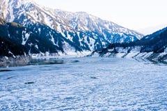 Lago 1 delle alpi del Giappone Immagine Stock