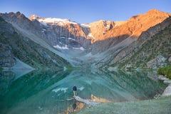 Lago delle montagne di Fann fotografia stock libera da diritti