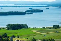 Lago Dellen Foto de archivo libre de regalías