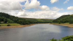 Lago Derwent Foto de archivo libre de regalías