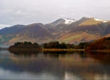 Lago Derwent en invierno Foto de archivo