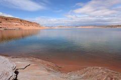 Lago desert Imagenes de archivo