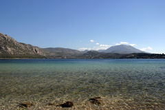 Lago desobstruído da montanha Fotos de Stock