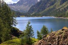 Lago Devero Fotografia Stock Libera da Diritti