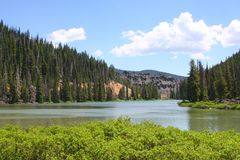 Lago devil Fotografia de Stock Royalty Free