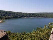 Lago devils, wi imagenes de archivo