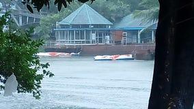 Lago Dhanmondi Imagem de Stock Royalty Free