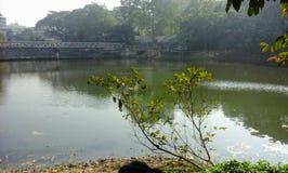 Lago Dhanmondi Immagini Stock