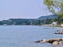 Lago di加尔达加尔达湖意大利北部意大利 免版税库存图片