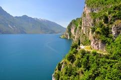 lago di加尔达 免版税图库摄影