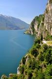Lago di加尔达 库存图片