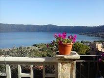 Lago di albano Royalty Free Stock Photos