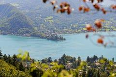 Lago di Annecy immagine stock