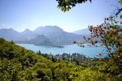 Lago di Annecy Fotografie Stock