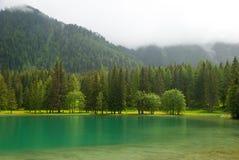 Lago Di Anterselva Antholzer βλέπει Στοκ φωτογραφία με δικαίωμα ελεύθερης χρήσης