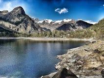 Lago di Antrona stock images