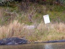 Lago di area dell'isola di incastramento del lunatico del legno fotografie stock libere da diritti