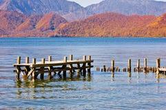 lago di autunno Fotografia Stock