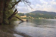 Lago di Avigliana Royalty Free Stock Image