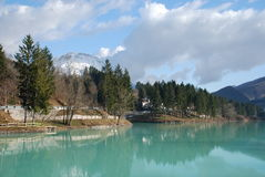 Lago di Barcis Royalty Free Stock Photo