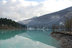 Lago di Barcis Stock Photography