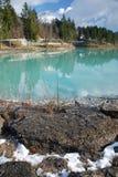 Lago di Barcis, Friuli Stock Images