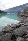 Lago di Barcis, Italy Royalty Free Stock Image