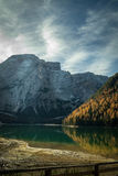Lago Di Braies Royalty-vrije Stock Fotografie
