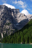 Lago di Braies - Pragser Wildsee, South Tyrol, Dolomites. Royalty Free Stock Image