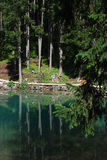 Lago di Braies - Pragser Wildsee, South Tyrol, Dolomites. Stock Image