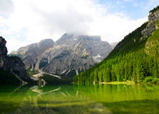 Lago di Braies - Sudtirol, Italy Royalty Free Stock Images