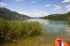 Lago di Caldonazzo Stock Image
