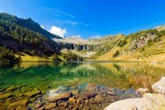 Lago di Campo - Adamello Trento Italien Lizenzfreie Stockfotos