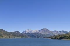Lago di Campostosto Royalty Free Stock Photo