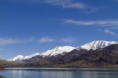 Lago di Campotosto Arkivfoto