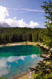 Lago di Carezza Royalty Free Stock Photography