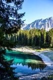 Lago di Carezza Royalty Free Stock Images