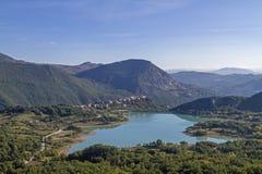 Lago di  Castel San Vincenzo Royalty Free Stock Photography