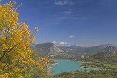 Lago di  Castel San Vincenzo Royalty Free Stock Images